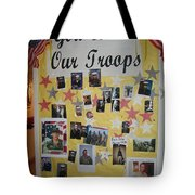 Patriotic Collage St. Helen Of The Cross Catholic Church Eloy Arizona 2004 Tote Bag