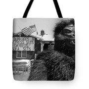 Patriotic Gorilla Pitchman July 4th Mattress Sale Tucson Arizona 1991 Tote Bag