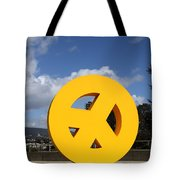 Peace From The Oakland Museum . Oakland California . 7d13411 Tote Bag