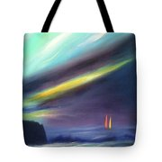 Peace Is Colorful 2 - Vertical Painting Tote Bag