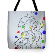 Peace The Inner Message Poster South Sudan Tote Bag