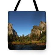 Peaceful Merced River Tote Bag