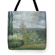 Peacock And Poultry In A Park, Chased By A Dog, Arie Lamme, C. 1775 - C. 1800 Tote Bag