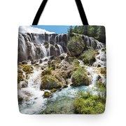 Pearl Shoal Waterfall Tote Bag