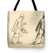 Peasant With Hat In Hand Tote Bag