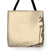 Peasant With Shovel On His Shoulder Tote Bag
