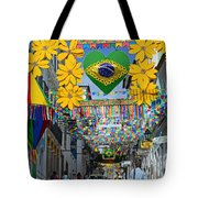 Pelourinho - The Historic Center Of Salvador Tote Bag