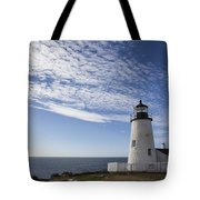 Pemaquid Lighthouse Tote Bag