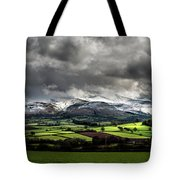Pen Y Fan And Brecon Beacons Panorama Tote Bag