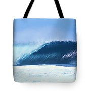 Perfect Wave At Pipeline Tote Bag