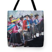 Peruvian Ladies Tote Bag