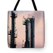 Petrochemical Plant Industry Zone Twilight Tote Bag