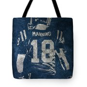 Peyton Manning Colts 2 Tote Bag