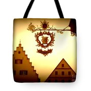 Pharmacy Sign In Rothenburg Tote Bag