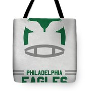 Philadelphia Eagles Vintage Art Tote Bag
