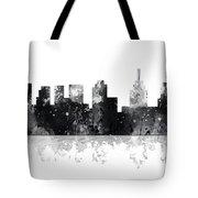 Philadelphia Pennsylvania Skyline Tote Bag