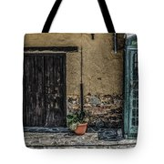 Phone Booth In Cyprus Tote Bag