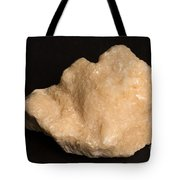 Phosphorescent Calcite On Fossilized Tote Bag