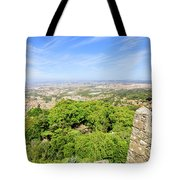 Photographer At Moorish Fortress Tote Bag