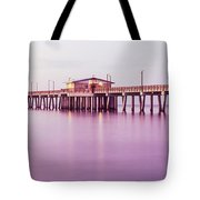 Pier In The Sea, Gulf State Park Pier Tote Bag