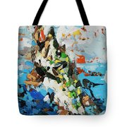 Pike In Action Tote Bag
