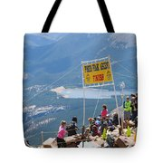 Pikes Peak Marathon And Ascent Tote Bag