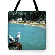 Pilot Bay Beach 4 - Mount Maunganui Tauranga New Zealand Tote Bag