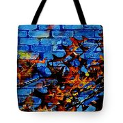 Pin Oak Leaves Tote Bag