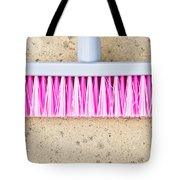 Pink Broom Tote Bag