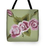Pink Miniature Roses Tote Bag
