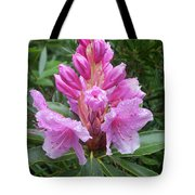 Pink Rhododendron 0070 Tote Bag