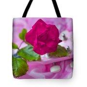 Pink Rose 5 Tote Bag