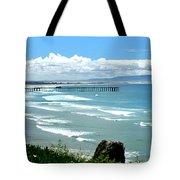Pismo Beach Pier Panorama Tote Bag