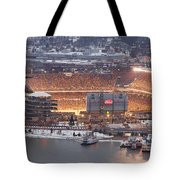 Pittsburgh 4 Tote Bag by Emmanuel Panagiotakis