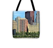 Pittsburgh Building Cluster Tote Bag