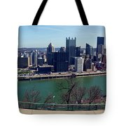 Pittsburgh Panorama Tote Bag