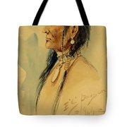 Plains Warrior Tote Bag