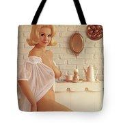 Playboy, Miss August 1962 Tote Bag