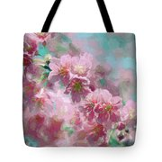 Plum Blossom - Bring On Spring Series Tote Bag