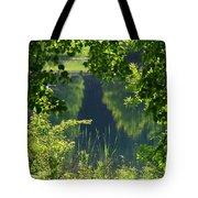 Pocket Lake Tote Bag