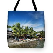 Polluted Dirty Beach With Garbage Rubbish In Koh Rong Island Cam Tote Bag