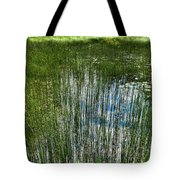 Pond Grasses Tote Bag