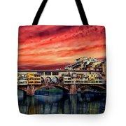 Ponte Vecchio Bridge Tote Bag