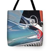 1933 Pontiac Eight Hood Ornament Tote Bag