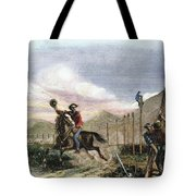 Pony Express, 1867 Tote Bag