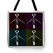 Pop Art Style Corkscrews. Tote Bag