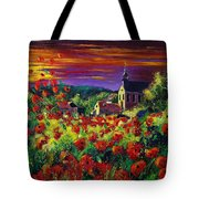 Poppies In Foy Tote Bag