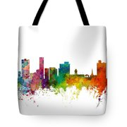 Port Elizabeth South Africa Skyline Tote Bag