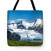 Portage Glacier Tote Bag