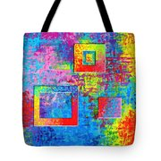 Portals Of Color Tote Bag